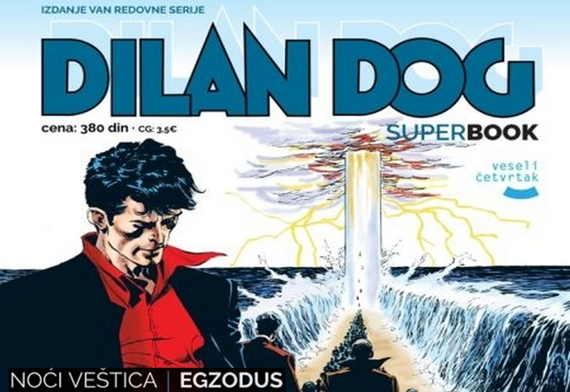 DYLAN DOG SUPER BOOK 49: NOĆ VEŠTICA / EGZODUS
