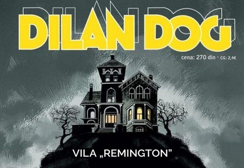 """DYLAN DOG 151: VILA """"REMINGTON"""""""