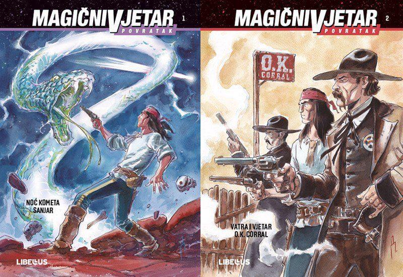 MAGIČNI VJETAR POVRATAK, KNJIGE 1 I 2