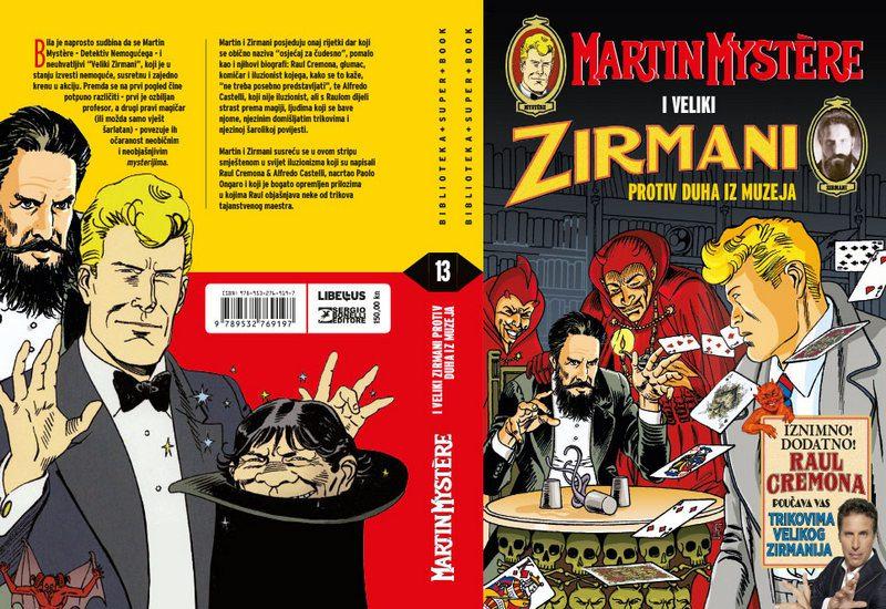 SUPER BOOK 13: MARTIN MYSTERE I VELIKI ZIRMANI PROTIV DUHA IZ MUZEJA