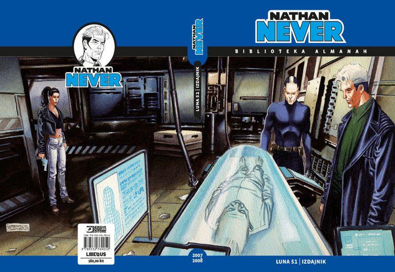 NATHAN NEVER ALMANAH, KNJIGA 8 (2007/2008)
