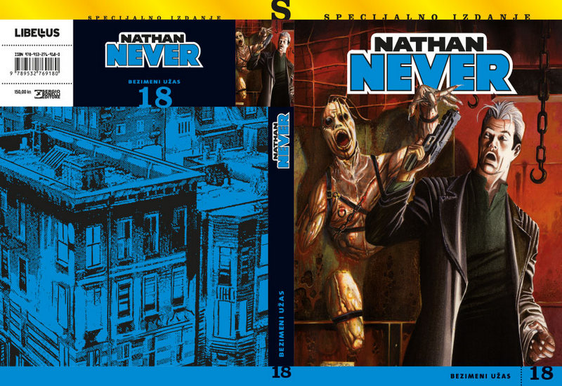 NATHAN NEVER SPECIJAL 18: BEZIMENI UŽAS