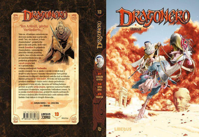DRAGONERO, KNJIGA 13: STRAHOSJEK