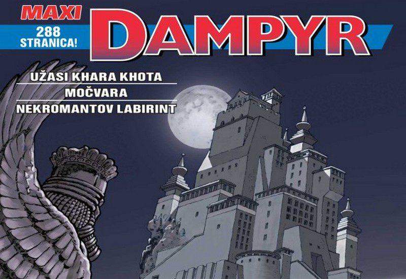 DAMPYR MAXI 6: UŽASI KHARA KHOTA / MOČVARA / NEKROMANTOV LABIRINT