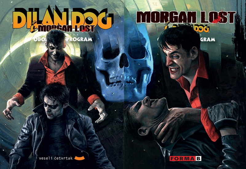 OBOJENI PROGRAM 45: DYLAN DOG & MORGAN LOST