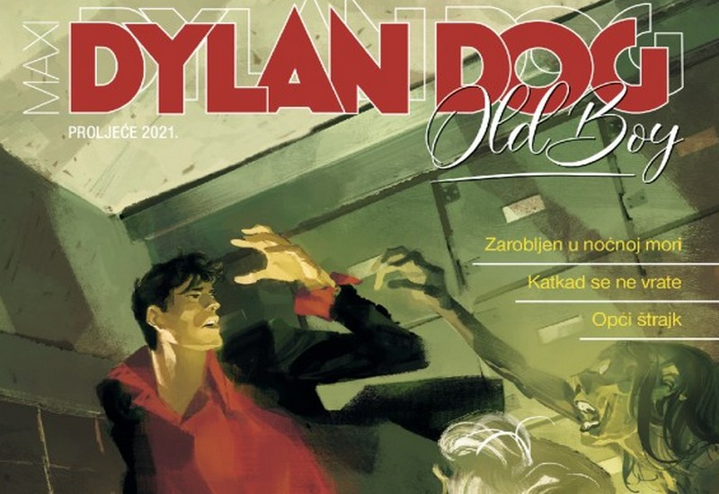 DYLAN DOG MAXI 23: OLD BOY, KNJIGA 2
